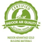 Certified by the TCNA for zero content of volatile organic compounds
